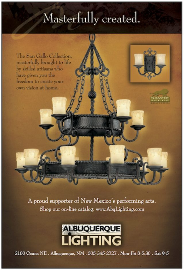 Ad For Albuquerque Lighting To Promote The New